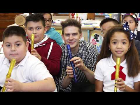 The New York Philharmonic Supports Music in Our Schools