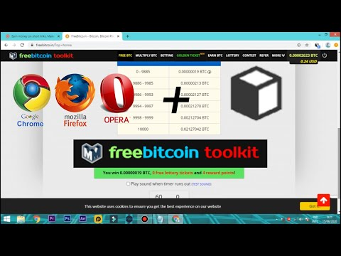 [New] AutoClaim FreeBitcoin With Google Chrome Etc + MeddleMonkey 2020 (1000% Work)