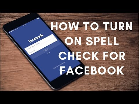 How To Turn On Spell Check For Facebook Chat And Messages