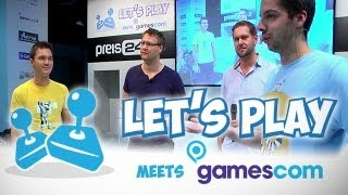 Thumbnail für GameTube goes Let's Play meets gamescom 2013 -  Die Show inkl. Fragestunde vom Sonntag