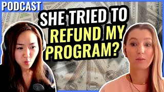 She wanted a REFUND? How this Social Media Manager went from asking for a refund to 10K months
