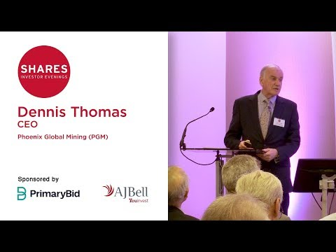 Dennis Thomas, Chief Executive Officer - Phoenix Global Mining (PGM)