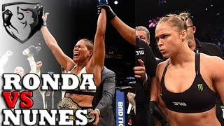 Why Ronda Rousey Will Lose Against Amanda Nunes at UFC 207