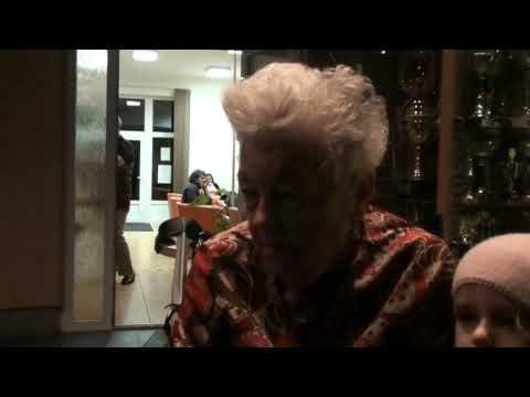 Hilda Múdra prišla odovzdať ocenenie pre najlepšieho športovca memoriálu.
