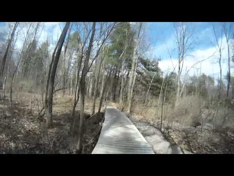 Portland Maine Mountain Bike Trails - GoPRO HD