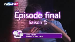 VIOLETTA - Soirée spéciale le 14 Mars sur DISNEY Channel, dernier EP de la S2 suivi de son concert