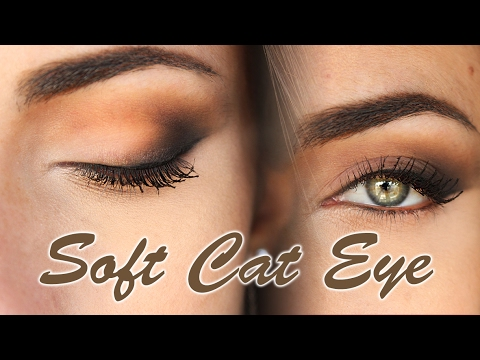 Everyday soft Cat Eye Makeup Tutorial