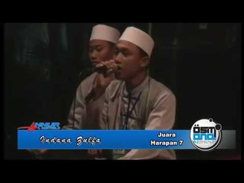 Indana Zulfa   Festival Albanjari Osmana 2015 PP An Nur Bululawang Malang