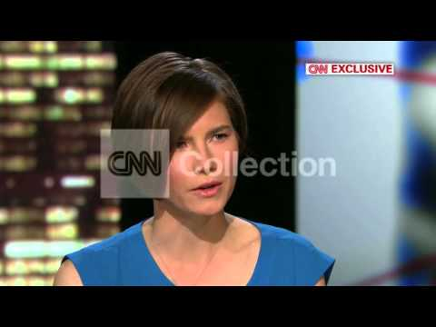 AMANDA KNOX REACTS TO SECOND CONVICTION