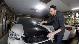 2015 Subaru Forester XT Ep. 73: Adding Vinyl To Hood