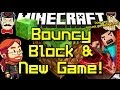 Minecraft News BOUNCY BLOCK & New Game!