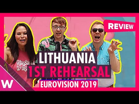 "lithuania-first-rehearsal:-jurij-veklenko-""run-with-the-lions""-@-eurovision-2019-(reaction)"