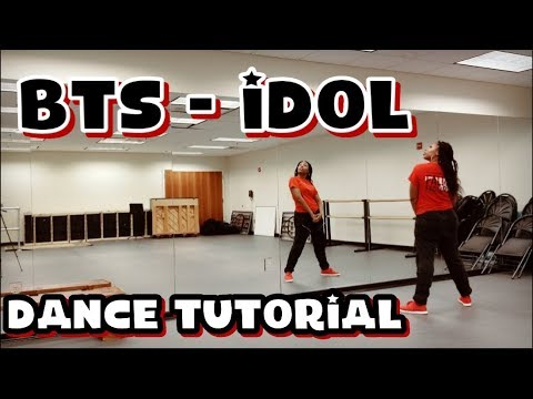 BTS (방탄소년단) 'IDOL' - DANCE TUTORIAL PART 1