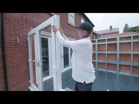 How to install the framework of a self build conservatory