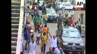 African Union backed forces arrive in the Comoros Island
