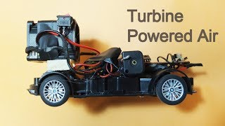 DIY Turbine Powered Air RC Car - Using Server Cooling Fan