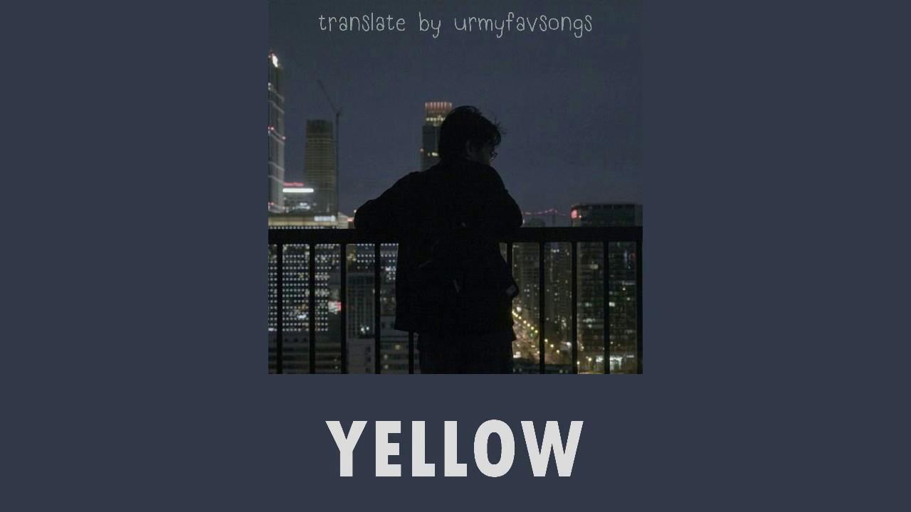เพลง yellow แปล