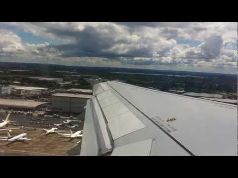 TAP Portugal A319 London Heathrow - Lisbon (FULL FLIGHT)