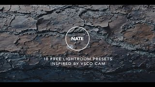 10 Free Lightroom Presets Inspired by VSCO