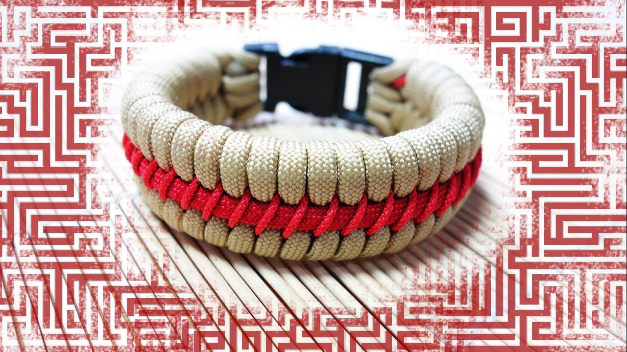 How to make the maze fishtail paracord bracelet tutorial for What can you make out of paracord