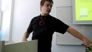 UH.HRADIŠTE: Studenti pro Becherovku: Patrik Schwach (www.SlovackoDNES.cz)