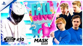 FALL GUYS MASKED VERSUS met MATTHY, JEREMY, THOMAS en EGBERT | FOR THE WIN: MASKED #10 | PlayStation