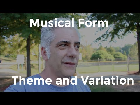 Music Theory  Theme and Variation  Musical Form Part 1