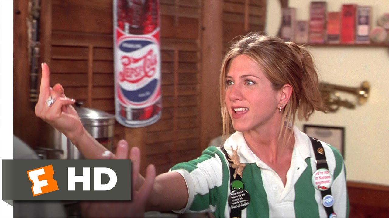 Office Space (5/5) Movie CLIP   Joanna Quits With Flair (1999) HD   YouTube
