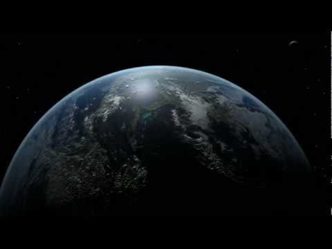 Earth 3d animation