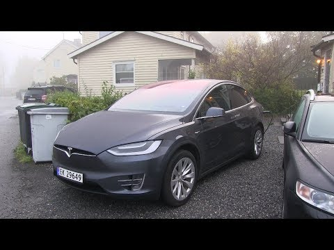 Tesla Model X consumption while preheating