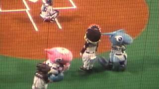 プロ野球セパ交流戦 中日ロッテ戦の始球式には なんと 今度新作が公開さ...