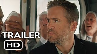 The Hitman's Bodyguard Official Trailer #2 (2017) Ryan Reynolds, Samuel L. Jackson Action Movie HD Mp3