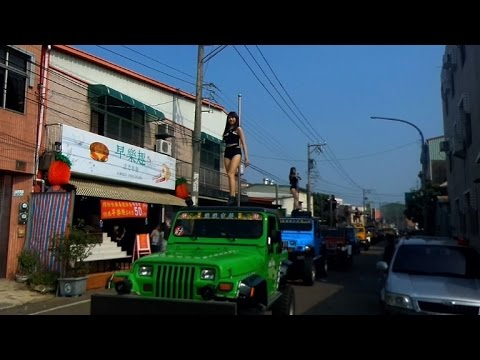 Pole dancers jam traffic at Taiwan politician's funeral