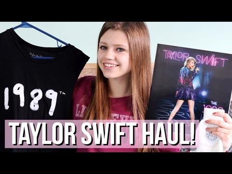 Taylor Swift Merchandise Haul 2017!