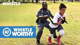 BEST Football Training Skills & Workout Highlights