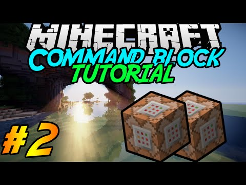 Command block Tutorial #2 | Scoreboard | Minecraft 1.8