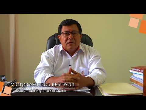 SALUDO GOBERNADOR REGIONAL DE SAN MARTÍN