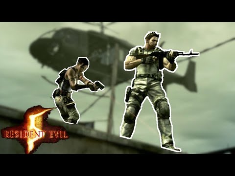Complete...Global...Saturation - Let's Play RE 5 Co-op #15 FINALE