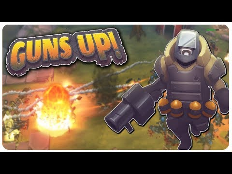 ENEMY RAID ON OUR BASE! Building The Fort Defense! | Guns Up Gameplay