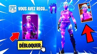 "THERE IS A VERSION FILLE OF THE SKIN ""GALAXIE"" on Fortnite Battle Royale!"