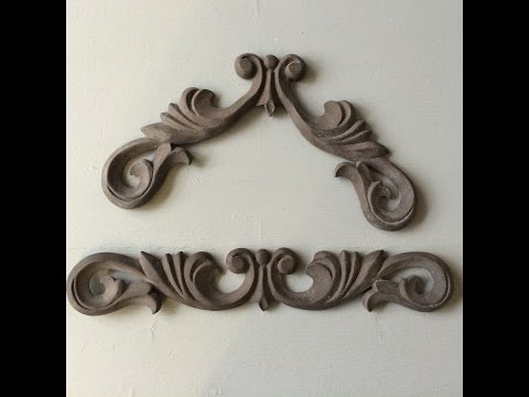 How to bend our Resin Chic Mouldings.