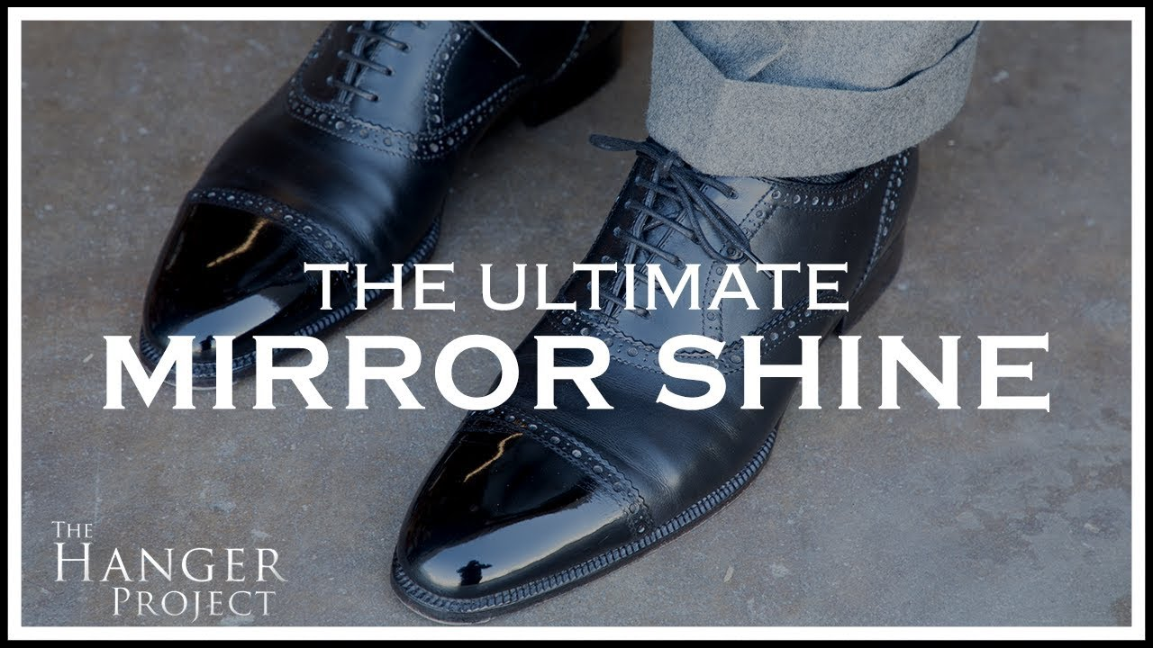 Download The Ultimate Mirror Shine For Dress Shoes | Kirby Allison