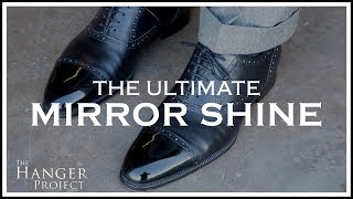 The Ultimate Mirror Shine For Dress Shoes | Kirby Allison