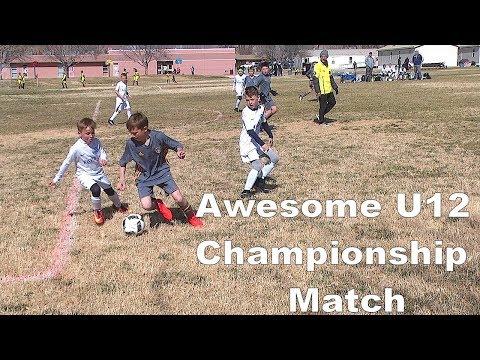 Ice Breaker Tournament U12 Championship-HVSC TL vs Wasatch JS