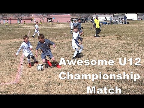 Ice Breaker Tournament U12 Championship-HVSC TL vs Wasatch JS