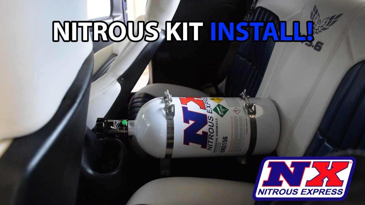 ls1 trans am camaro nitrous wet kit install  [ 1280 x 720 Pixel ]