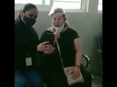 Margarita la Diosa de la Cumbia se vacuna contra Covid en Yucatán