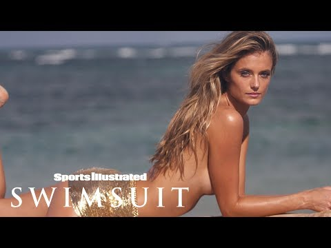 Kate Bock Wears a Gold Chain Skirt and Nothing Else | CANDIDS | Sports Illustrated Swimsuit