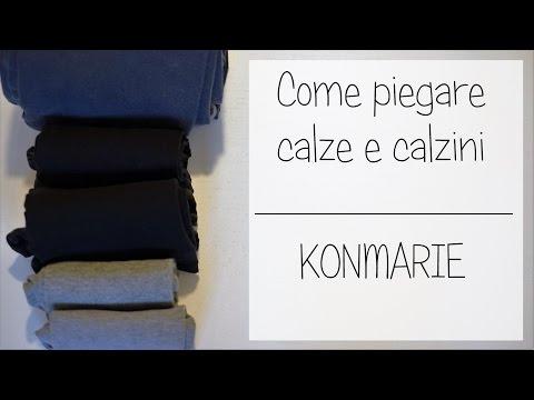 Piegare Calze E Calzini - Marie Kondo