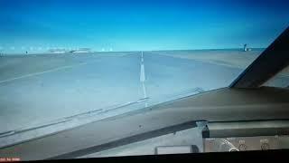 FSX: Austral B777-200ER Landing at New Doha Airport(Hamad Intl)